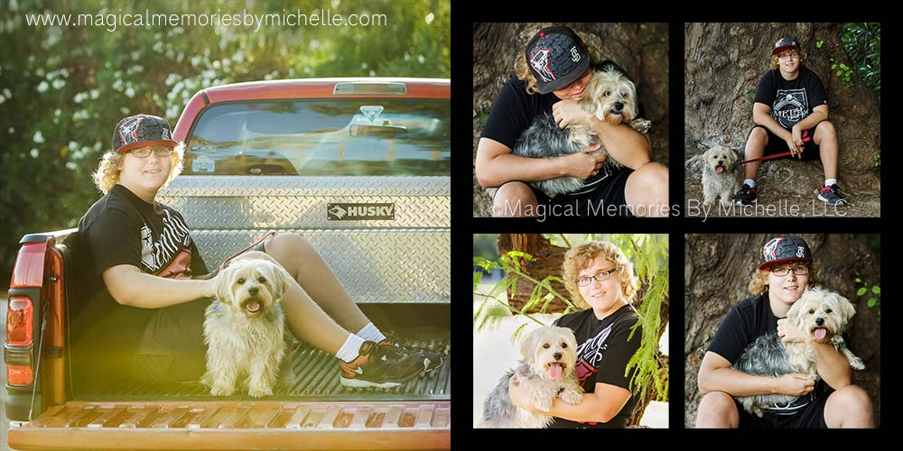 Senior Pictures Dogs Chandler AZ