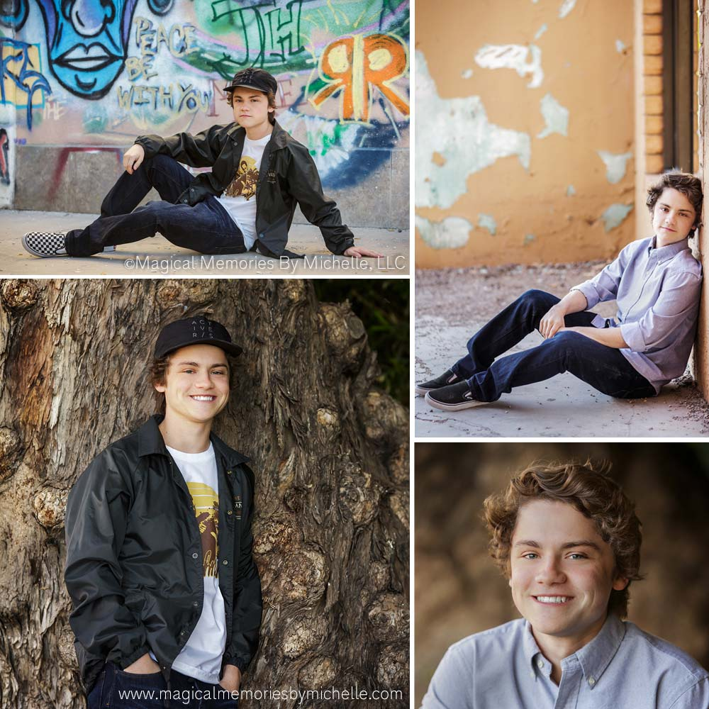 Chandler Photographer Senior Pictures Graffiti