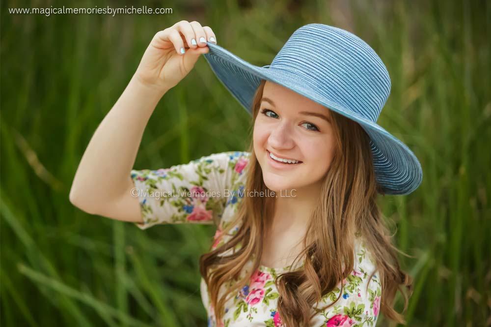 Mesa senior photographer for high school girls.