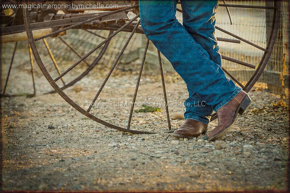 AZ Photographer Rustic Cowboy Boots
