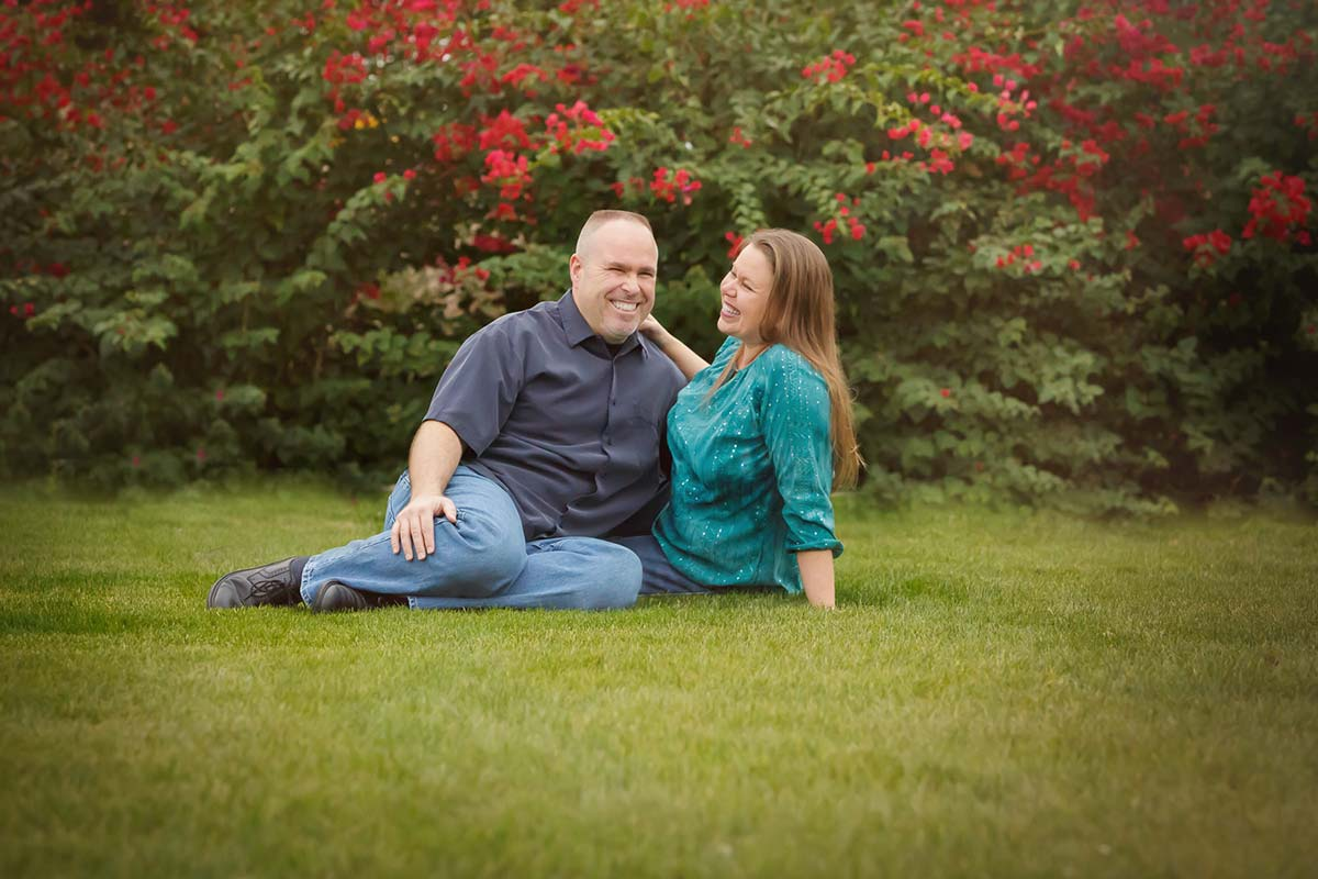 Husband and wife, family pictures in Mesa, AZ