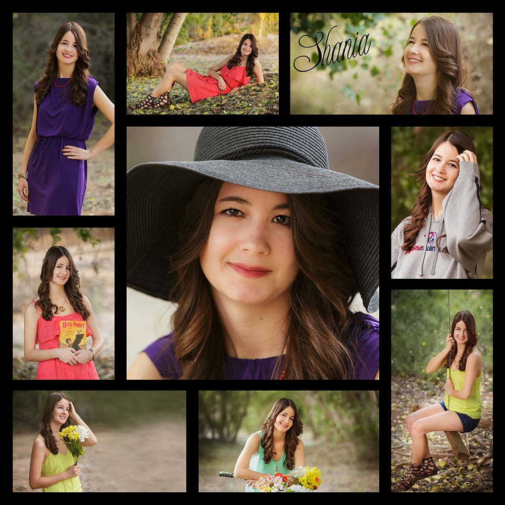 Custom collage of graduation photos in Chandler, AZ.