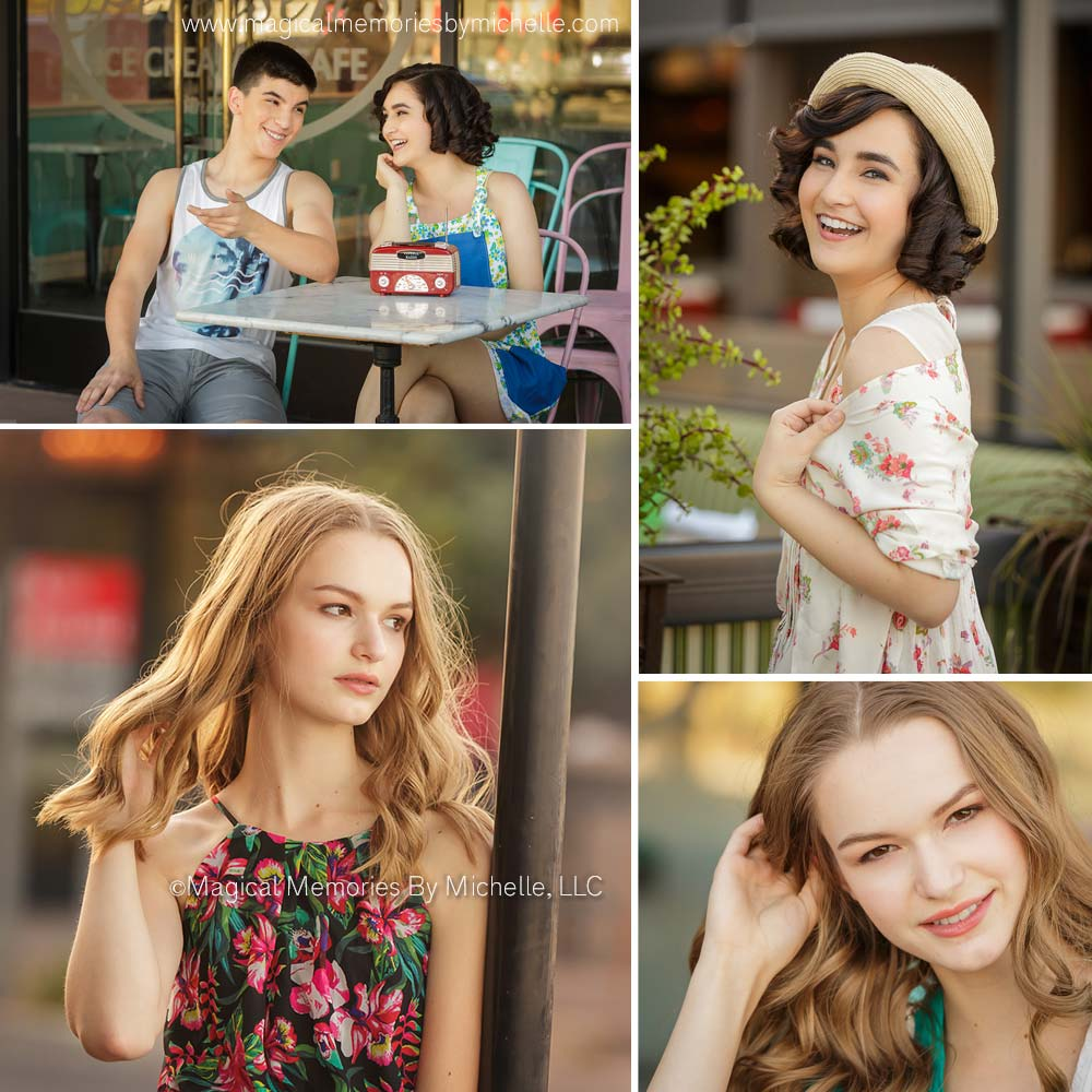 Senior Photo Shoot in Downtown Gilbert