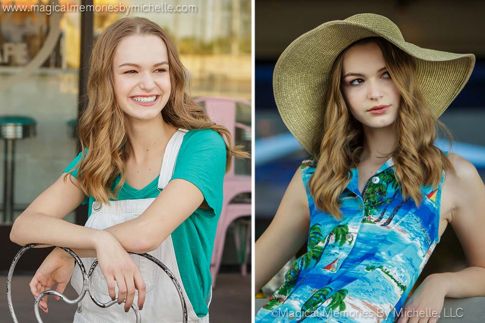 Professional photographer in Downtown Gilbert