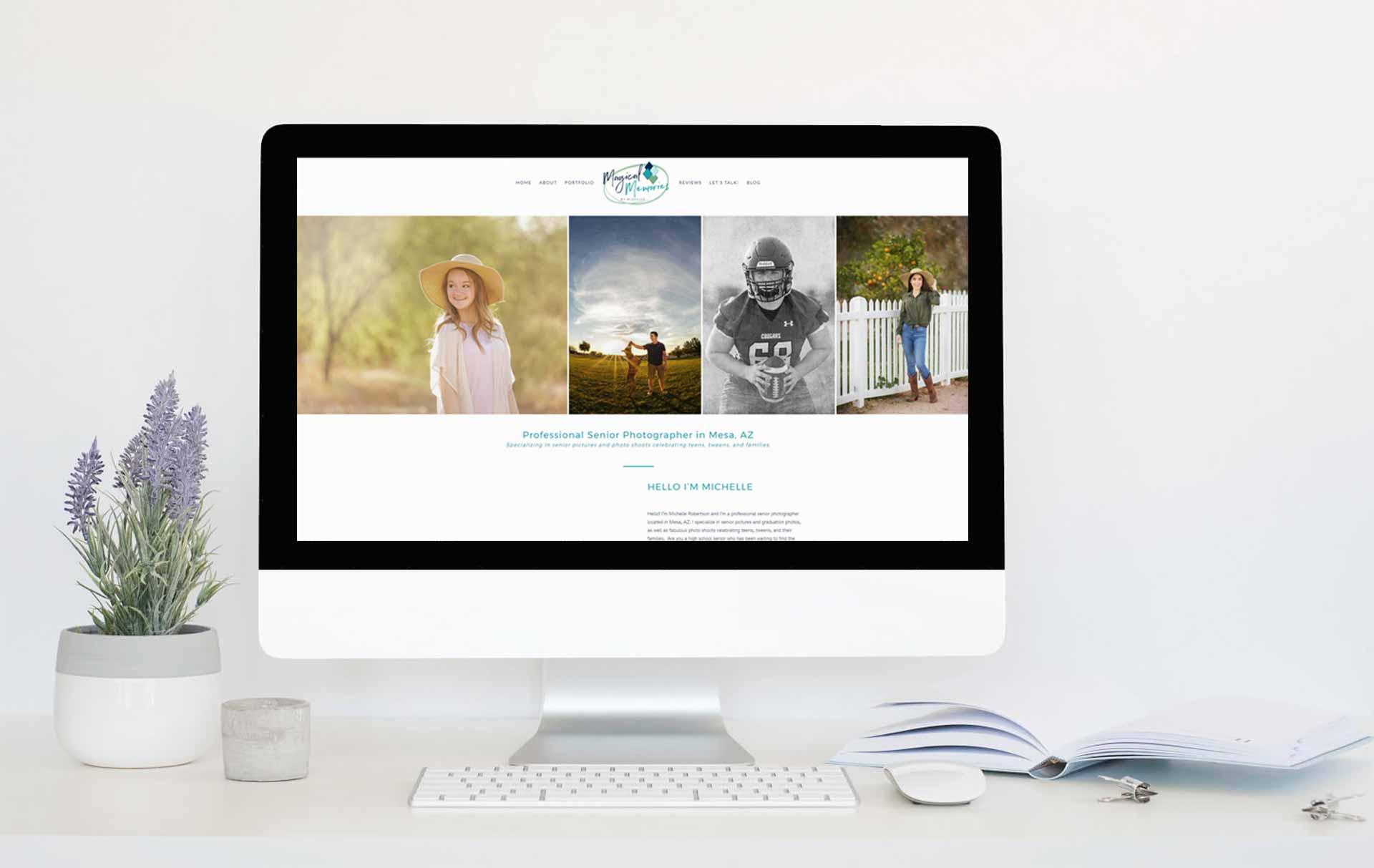 Website shows best Mesa senior pictures