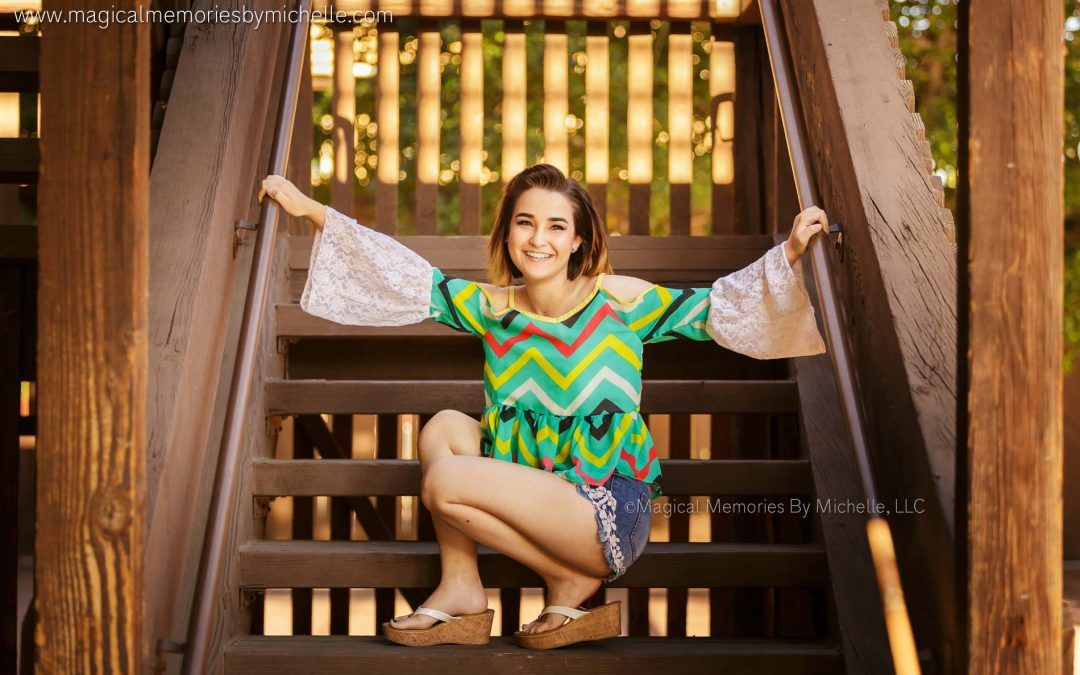 Phoenix Senior Photographer | Downtown Phoenix Senior Pictures | Mercy
