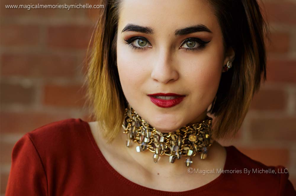 Phoenix Senior Photographer does fashion photo shoot for senior pictures.