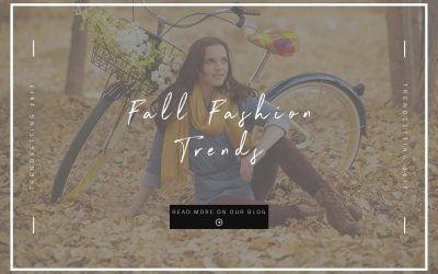Top 6 Fall Fashion Trends | Prepping Your Wardrobe for Senior Pictures