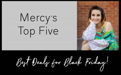 Top 5 Places To Shop On Black Friday/Cyber Monday | Mesa Senior Photographer