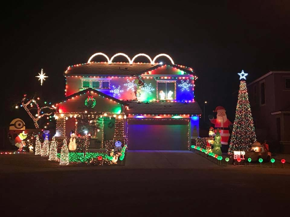 Best Chrstmas Lights in East Valley