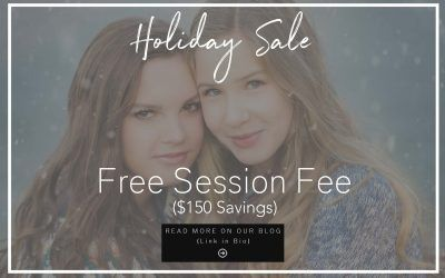 Holiday Sale for Senior Pictures | Free Session Fee
