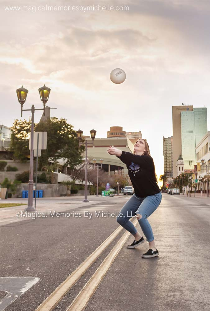 Senior Girl Volleyball Pictures
