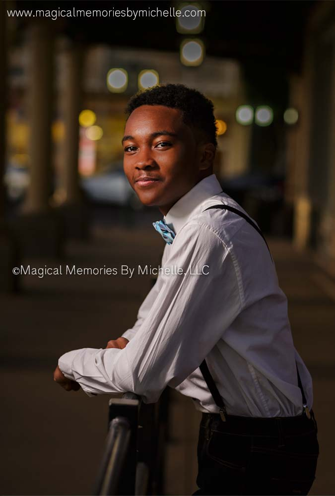 Downtown Chandler Senior Photos Night