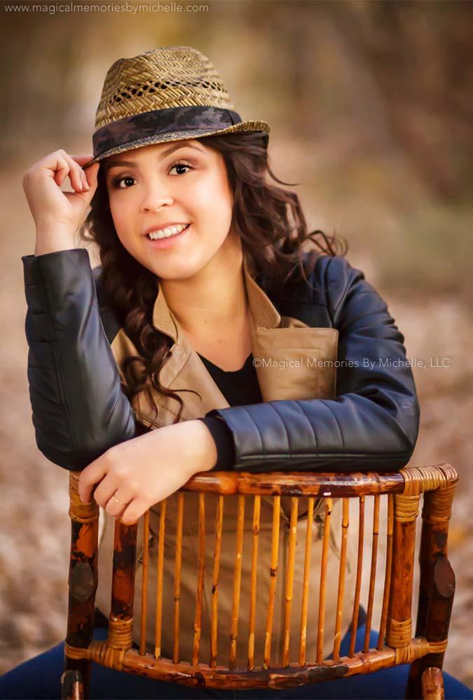 Queen Creek Fall Senior Portraits