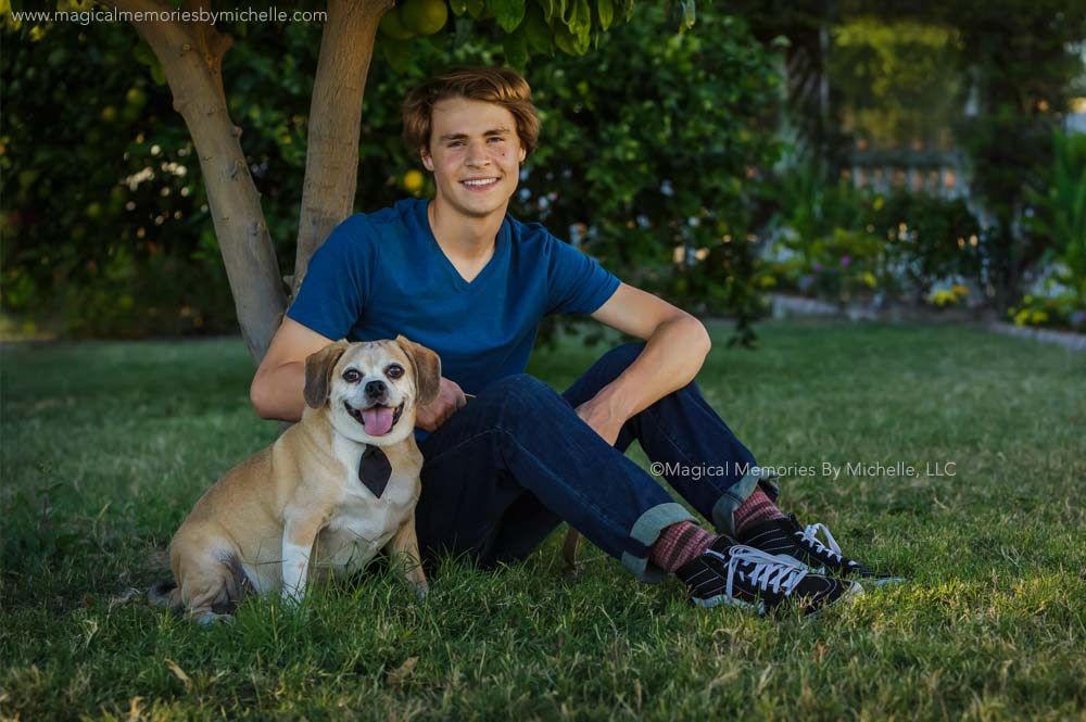 Senior Pictures With Your Dog