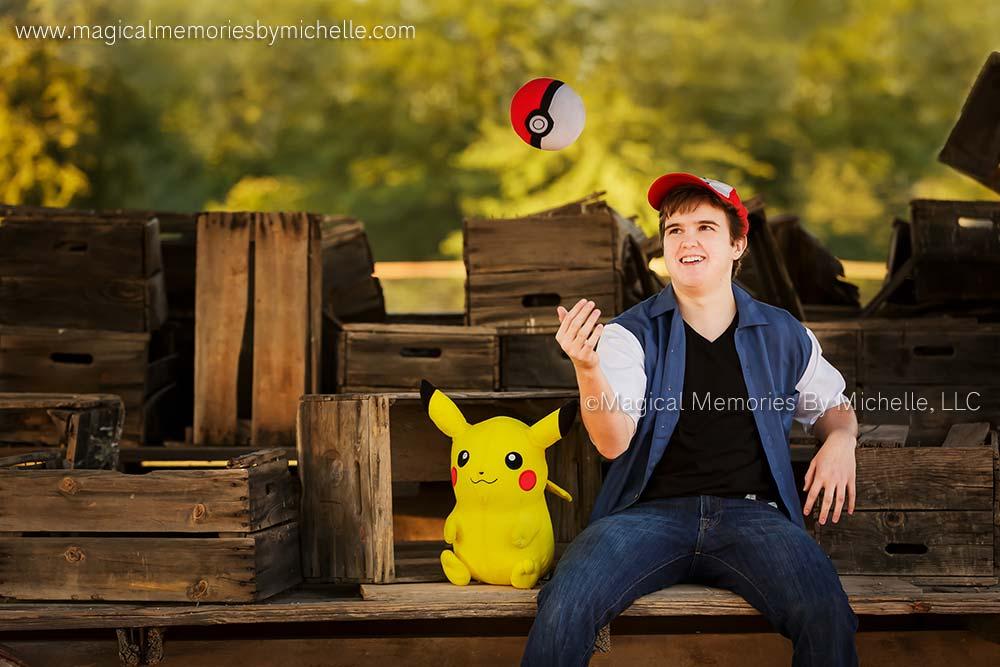 Scottsdale Senior Photographer Pokemon Go