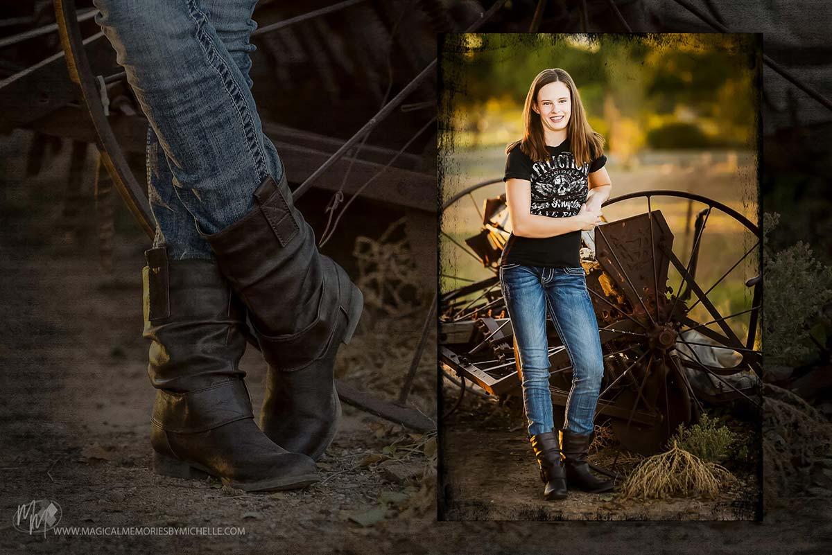 Scottsdale Senior Pictures Boots